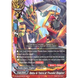 BFE X2-BT01A-SP/0014EN R Delta & Tetra of Thunder Empire!