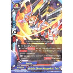 "BFE X2-BT01A-SP/0016EN R Explosive Takedown, Rampage Sonic ""Turbo"""