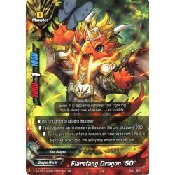"BFE X2-BT01A-SS01/0010EN RR Flarefang Dragon ""SD"""