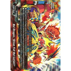 "BFE X2-BT01A-SS01/0014EN RR Bal Dragon, ""Great Full Bal Lariat!!"""