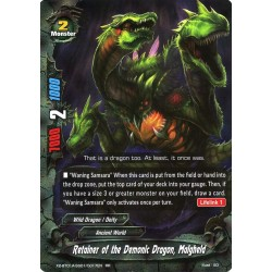 BFE X2-BT01A-SS01/0017EN RR Retainer of the Demonic Dragon, Malgheld