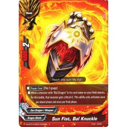 BFE X2-BT01A-SS01/0032EN C Sun Fist, Bal Knuckle