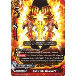 BFE X2-BT01A-SS01/0033EN C Sun Fist, Balguard