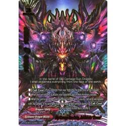 """BFE X2-BT01A-SS01/0046EN Secret Sky Carnage Sun deity, Azi Dahaka """"Zurvan"""""""