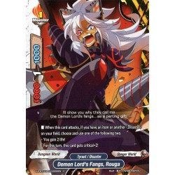 BFE X2-BT01A-D/0006EN C Demon Lord's Fangs, Rouga