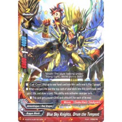 BFE X2-BT01A-SP/0012EN Foil/R Blue Sky Knights, Drum the Tempest