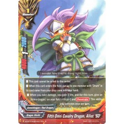 "BFE X2-BT01A-SP/0017EN Foil/R Fifth Omni Cavalry Dragon, Alliot ""SD"""