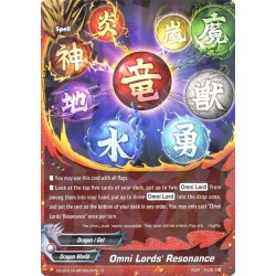 BFE X2-BT01A-SP/0026EN Foil/R Omni Lords' Resonance