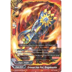 BFE X2-BT01A-SP/0028EN Foil/R Crimson Iron Fist, Dragoknuckle