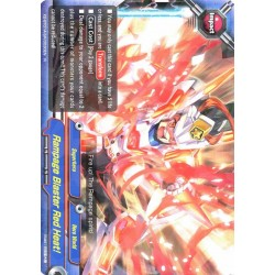 BFE X2-BT01A-SP/0030EN Foil/R Rampage Blaster Red Heat!