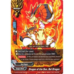 BFE X2-BT01A-SS01/0027EN Foil/C Dragon of the Sun, Bal Dragon