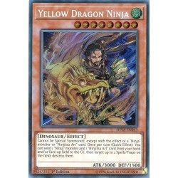 YGO SHVA-EN013 Ninja Dragon Jaune / Yellow Dragon Ninja