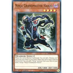 YGO SHVA-EN022 Maestro Ninja Hanzo / Ninja Grandmaster Hanzo