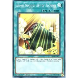 YGO SHVA-EN027 Art Ninjitsu Armure d'Alchimie / Armor Ninjitsu Art of Alchemy