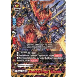 """BFE H-BT04/0027EN Foil/R Armorknight Dragon, """"Earthshaker"""""""