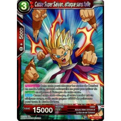 DBS TB1-010 R Cabbe Super Saiyan, attaque sans faille