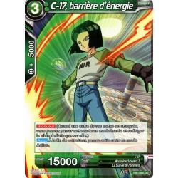 DBS TB1-054 UC C-17, barrière d'énergie