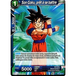 DBS TB1-027 Foil/C Son Goku, prêt à se battre