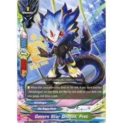 BFE S-BT01/0030EN Foil/R Govern Star Dragon, Fret