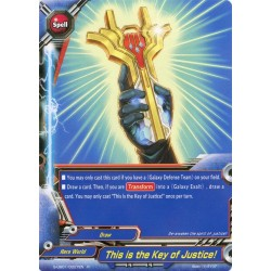 BFE S-UB01/0027EN Foil/R This is the Key of Justice!