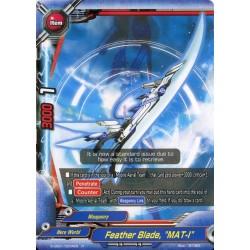 """BFE S-UB01/0034EN Foil/R Feather Blade, """"MAT-I"""""""
