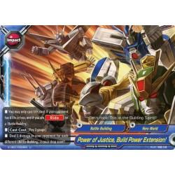 BFE S-UB01/0059EN Foil/U Power of Justice, Build Power Extension!