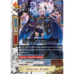 BFE S-UB02/0028EN Foil/R Demon Lord, Nil Genia