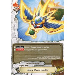 BFE S-UB02/0034EN Foil/R Throw Throw Swallow