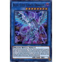 YGO LED3-EN001 Dragon du Chaos aux Yeux Bleus / Blue-Eyes Chaos Dragon