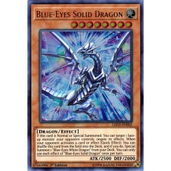 YGO LED3-EN002 Dragon Solide aux Yeux Bleus / Blue-Eyes Solid Dragon