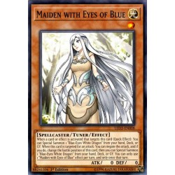 YGO LED3-EN008 Demoiselle aux Yeux Couleur Bleu / Maiden with Eyes of Blue