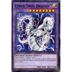 YGO LED3-EN018 Dragon Cyber Jumelé (Actualisé de : Cyber Dragon Jumelé) / Cyber Twin Dragon