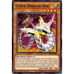 YGO LED3-EN020 Cyber Dragon Drei