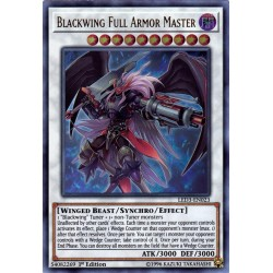 YGO LED3-EN023 Aile Noire - Maître Complet des Armures / Blackwing Full Armor Master