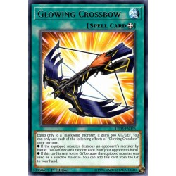 YGO LED3-EN026 Arbalète Rayonnante / Glowing Crossbow