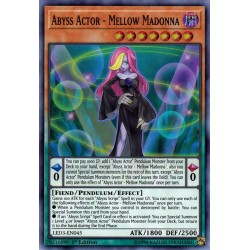 YGO LED3-EN045 Abyss Actor - Mellow Madonna