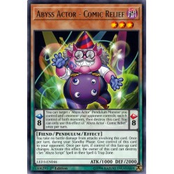 YGO LED3-EN046 Acteur des Abysses - Soulagement Comique / Abyss Actor - Comic Relief
