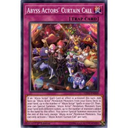 YGO LED3-EN049 Abyss Actors' Curtain Call