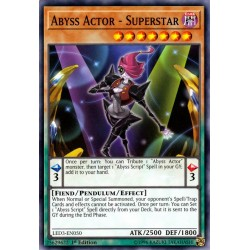 YGO LED3-EN050 Acteur des Abysses - Superstar / Abyss Actor - Superstar