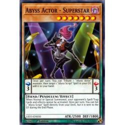 YGO LED3-EN050 Abyss Actor - Superstar