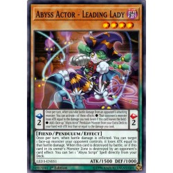 YGO LED3-EN051 Abyss Actor - Leading Lady