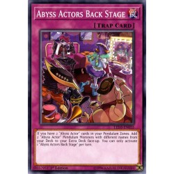 YGO LED3-EN055 Acteur des Abysses en Coulisses / Abyss Actors Back Stage