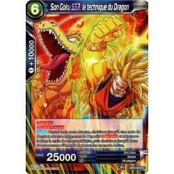 DBS BT4-025 R Dragon Fist SS3 Son Goku