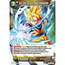 DBS BT4-077 UC Indomitable Dynasty SS Son Goku