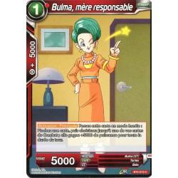 DBS BT4-013 Foil/C Bulma, mère responsable