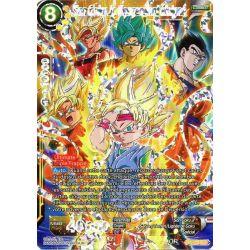 DBS BT4-123 SCR Distant Descendant, Son Goku Jr.