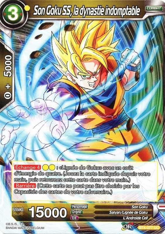 X4cards DBS BT4-078 C Son Goku la dynastie irréfragable BT4-078 Carte DBS COLO