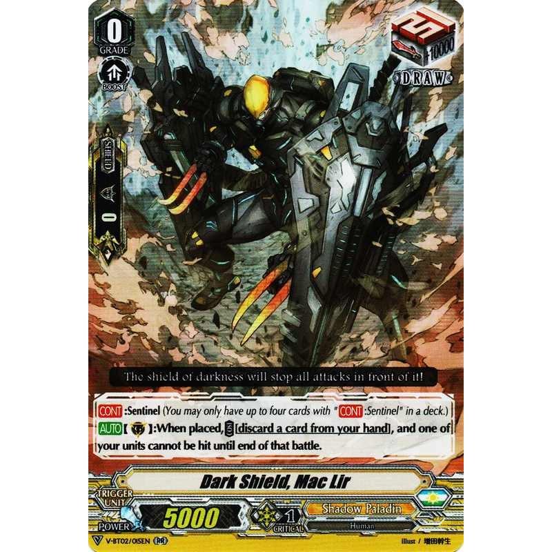 Dark Metal BicornV-BT02//076ENCPale MoonCardfight! Vanguard