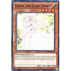 YGO SOFU-EN027 Diana l'Esprit du Vent / Diana the Light Spirit