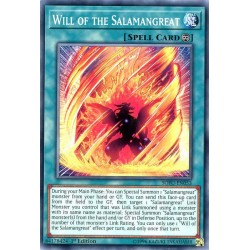 YGO SOFU-EN053 Will of the Salamangreat